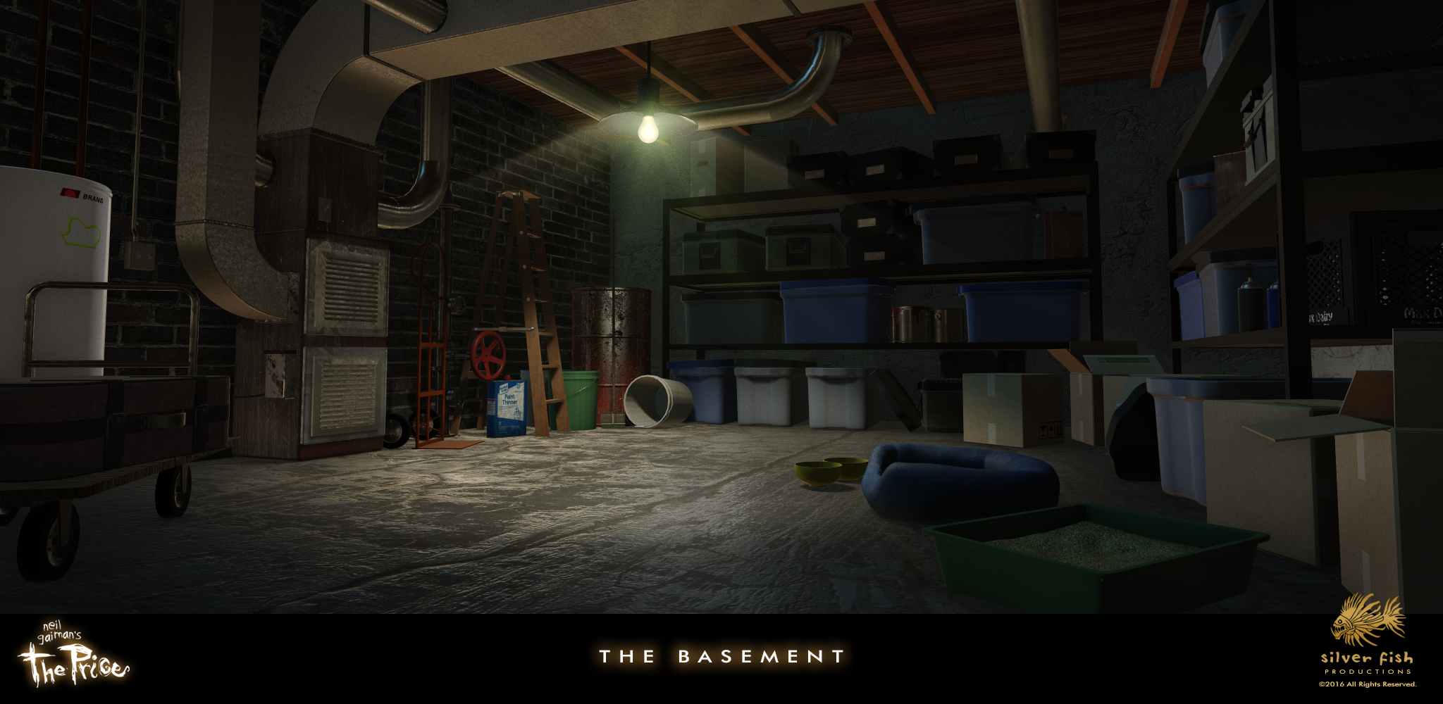 one of the featured locations in the film the basement